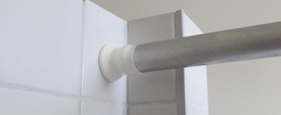 Kunden Idee: Gemauerte Duschnische mit Wasserstop