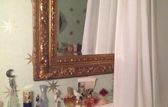 Kunden Idee: Badezimmer Dekoration, Schutz dank Duschvorhang