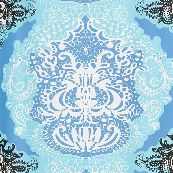VALLILA Duschvorhang Textil 180x200 Mandariini