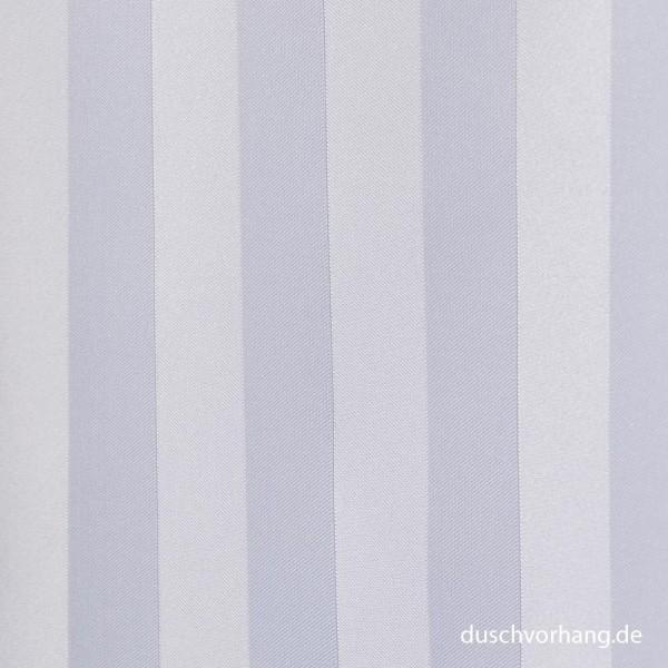 Duschvorhang Textil 180x200 Trevira Streifen Satin