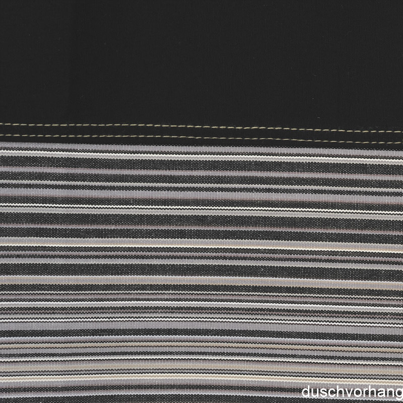 duschvorhang textil 180x200 streifen schwarz horizontal bunt farbe duschvorhang. Black Bedroom Furniture Sets. Home Design Ideas