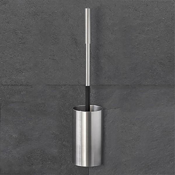 WC Garnitur Wandhalterung zum kleben oder schrauben Badezimmer Edelstahl Design