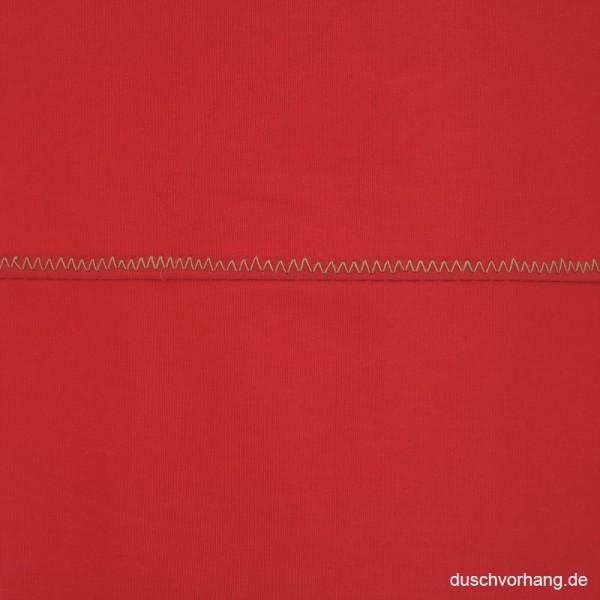 Duschvorhang Textil 180x200 Rot Uni