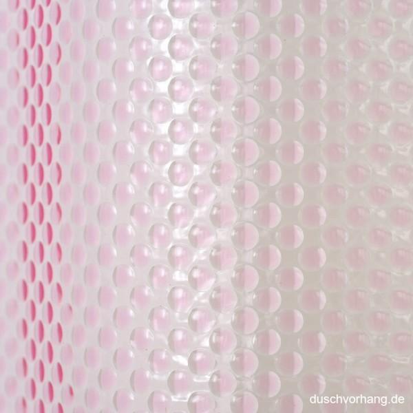 Duschvorhang 180x180 Bubbles Pink