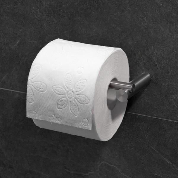 Edelstahl Badzubehör Toilettenrollenhalter zum kleben oder schrauben