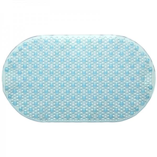 PVC Badematte Azur Blau