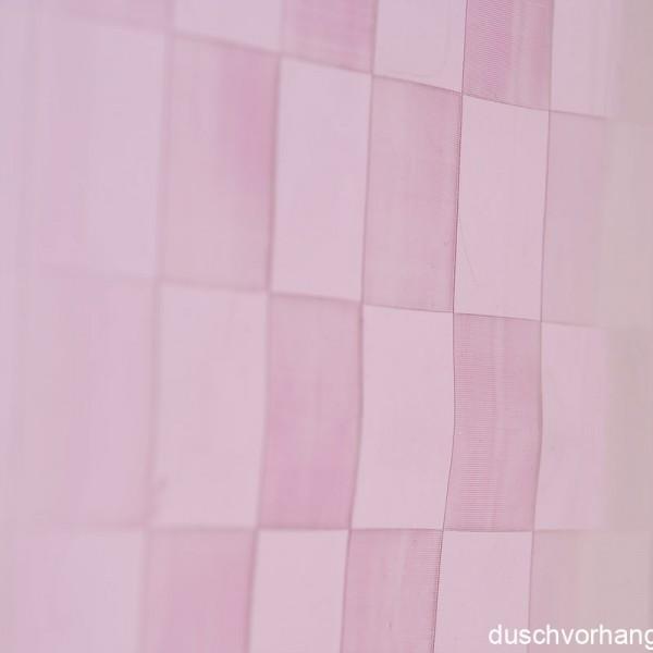 Duschvorhang 180x180 Chex Pink