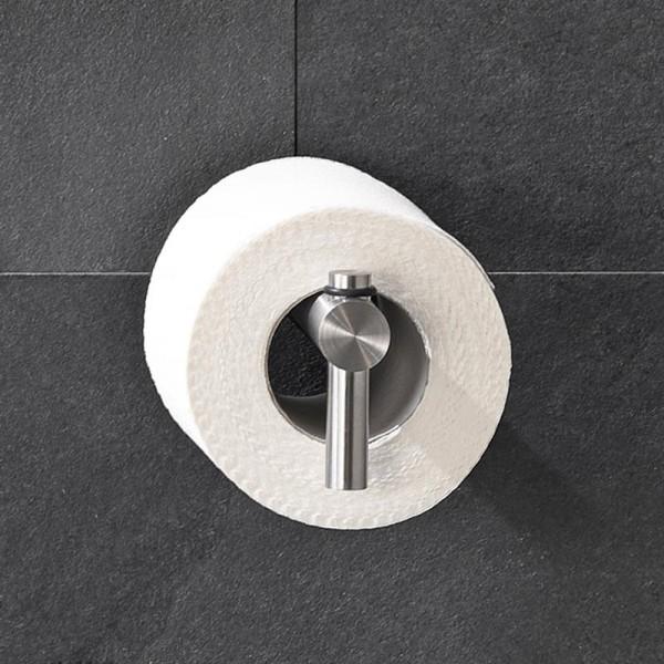 Toilettenpapierhalter zum kleben ohne bohren im modernen Edelstahl Design