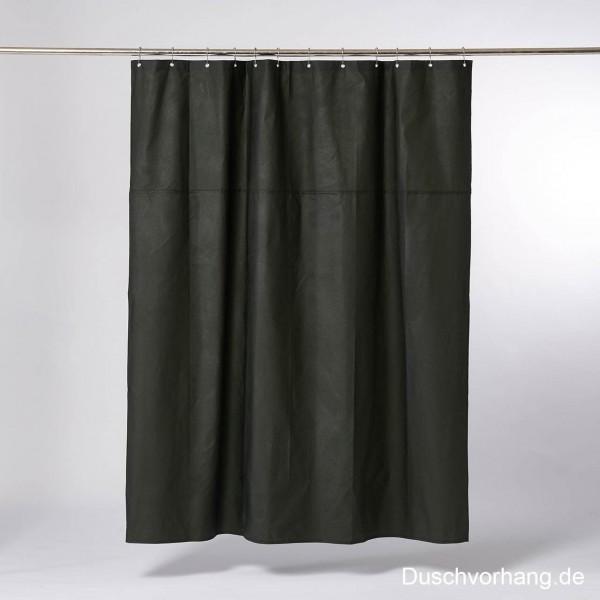 DUWAX Textil Duschvorhang Grün