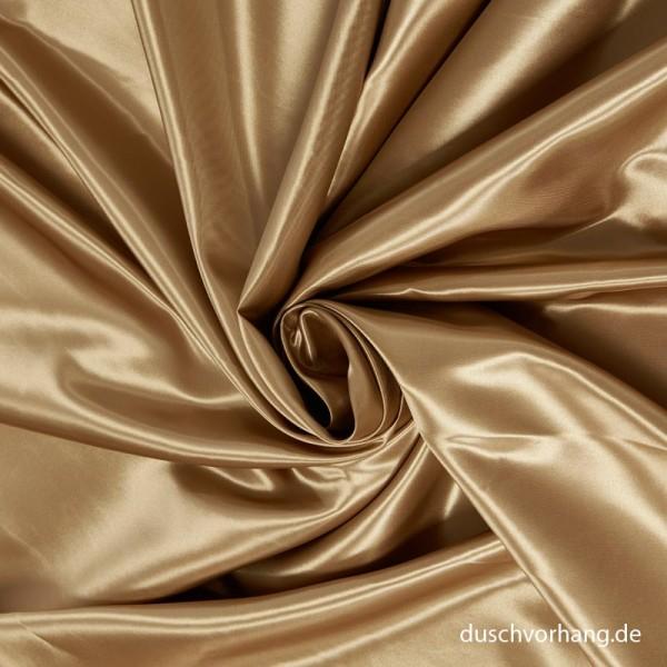 Duschvorhang Textil Gold 180x200