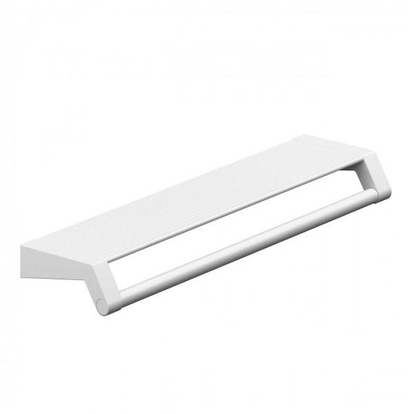 Design Ablage mit Handtuchhalter - Wandmontage - A100