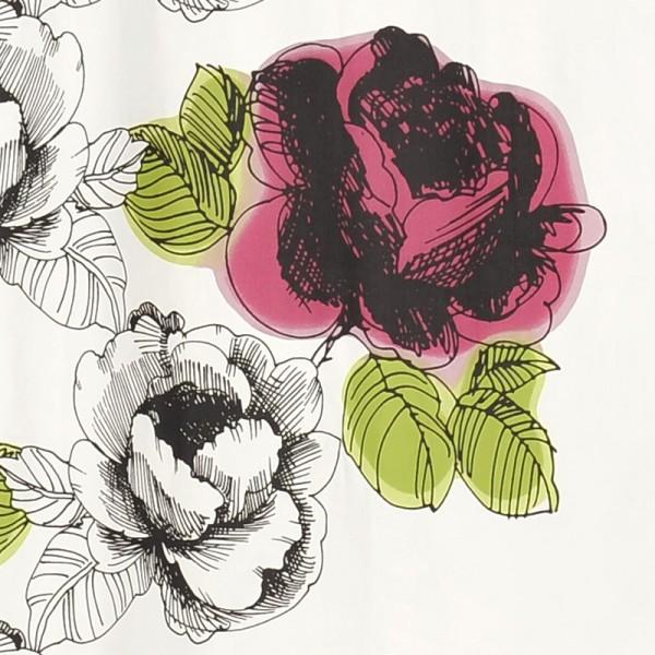 Duschvorhang Textil 180x200 Daami Pink