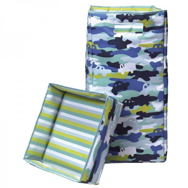 Wäschecontainer 30x30x60cm Camouflage