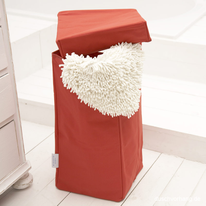 w schekorb 30x30x60cm aurora rot waschkorb aufbewahrung sale einfach. Black Bedroom Furniture Sets. Home Design Ideas