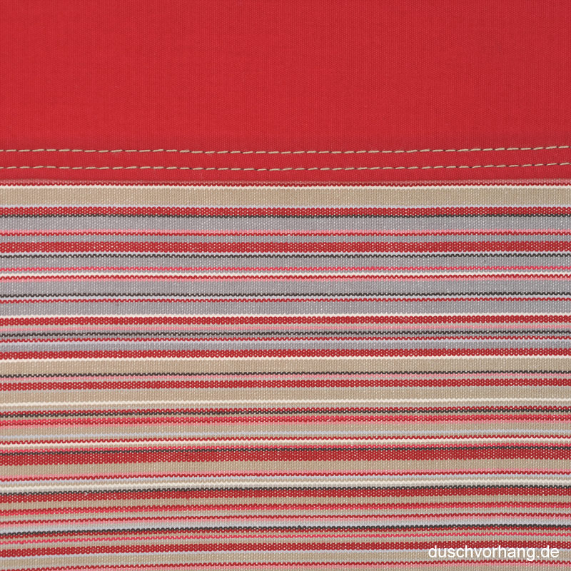 duschvorhang textil 180x200 streifen rot horizontal bunt farbe duschvorhang duschvorhang. Black Bedroom Furniture Sets. Home Design Ideas