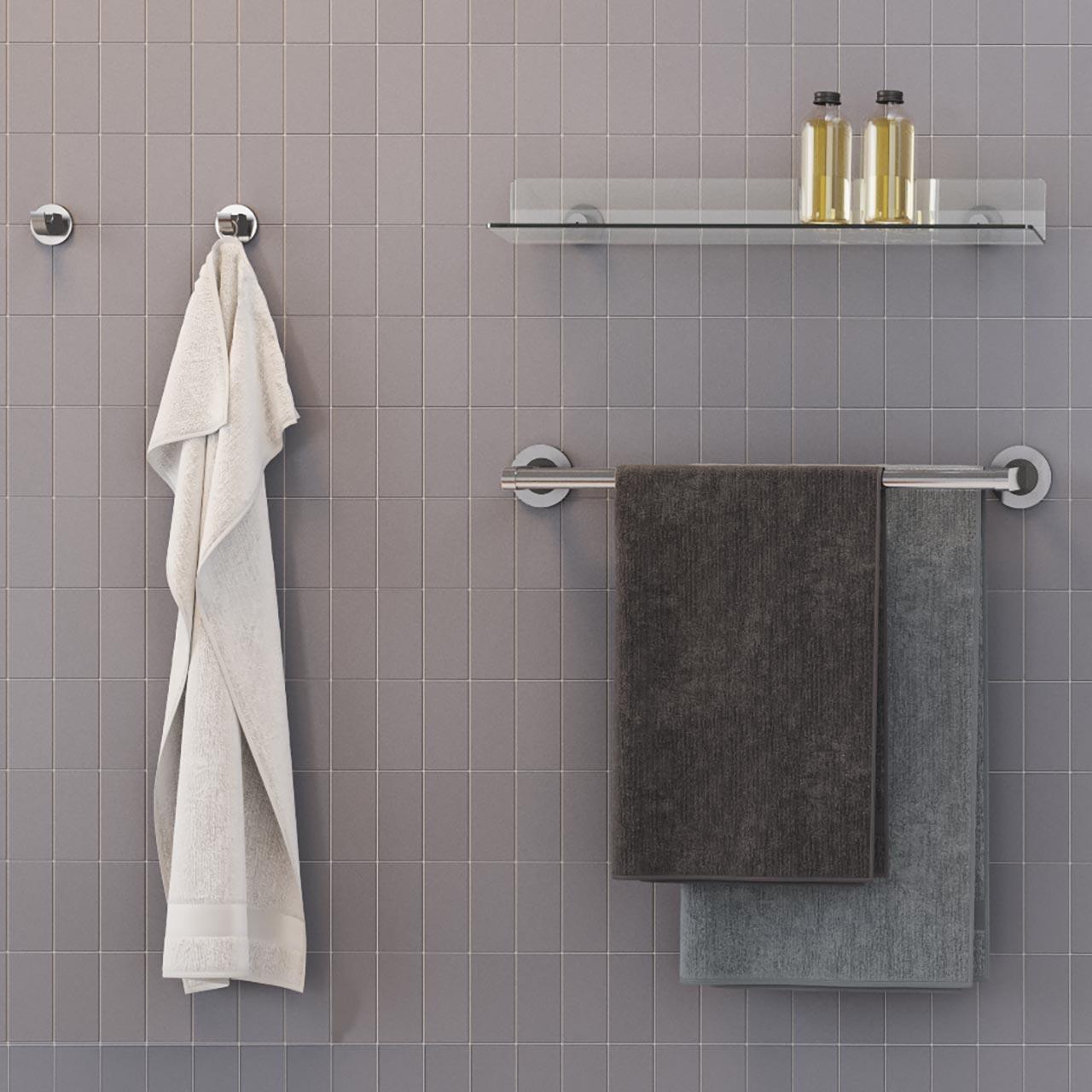 Ablage für Dusche Bad WC - Kunststoff - ErgoSystem
