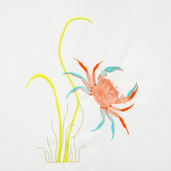 Individualisierung Stickerei Motiv Krabbe