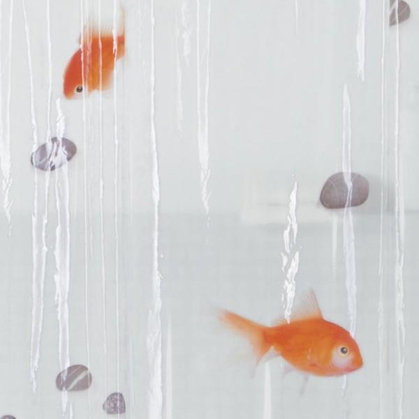 Duschvorhang Spirella 180x200 Goldfisch