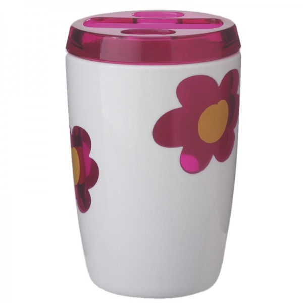 Kinder Zahnputzbecher Blume Spring Pink