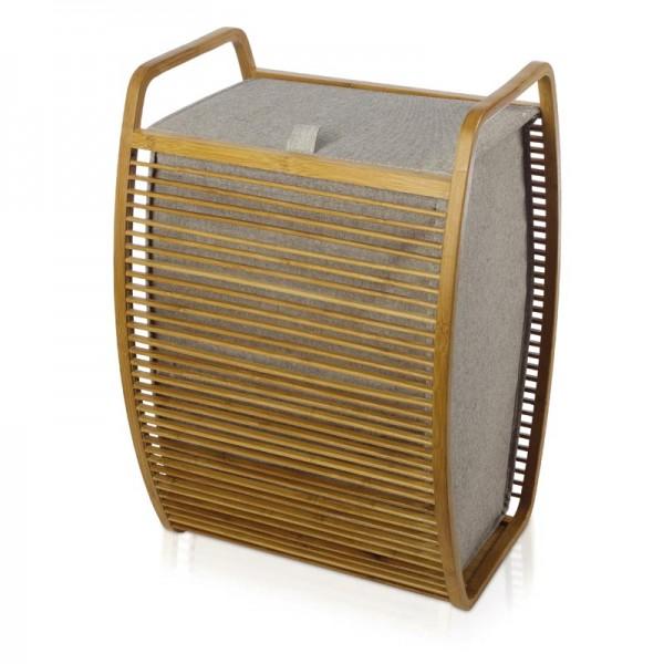 MÖVE Wäschekorb Bambus Deckel