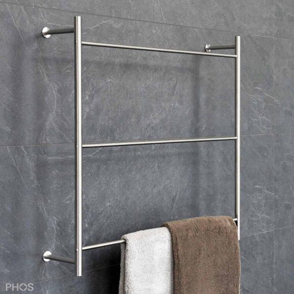 Handtuchleiter HTL W - Wandmontage - Edelstahl