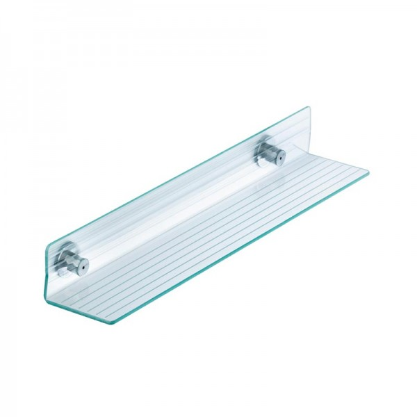 Badezimmer und Duschablage aus Kunststoff mit Edelstahl Wandbefestigung