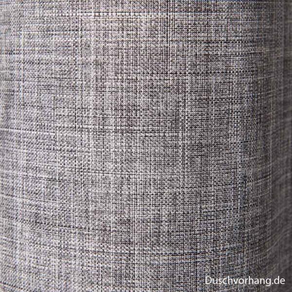 Duschvorhang Möve Grau Detail