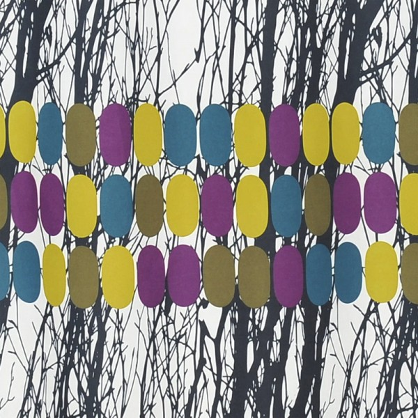 Mette Ditmer Duschvorhang Textil 150x200 Blackwoods