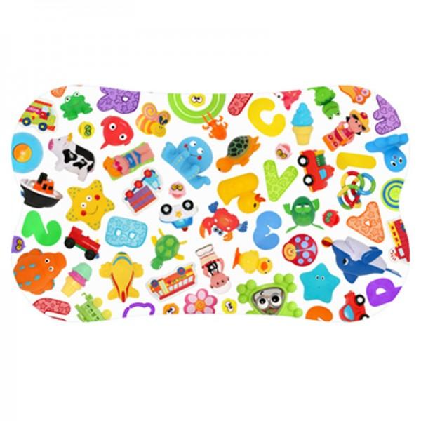 Antirutsch Badematte Gummi Design Spielzeug 70x40cm