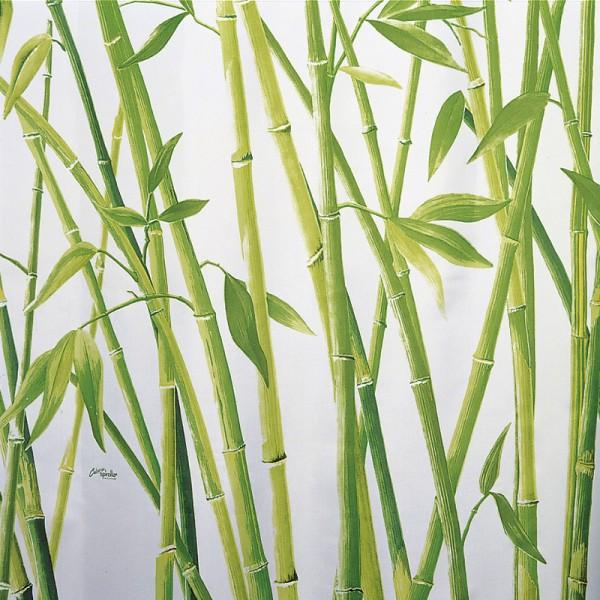 Duschvorhang Textil 180x200 Bambus