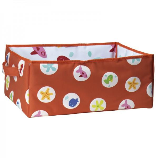 Aufbewahrungsbox 35x25x15cm Orange Fish L