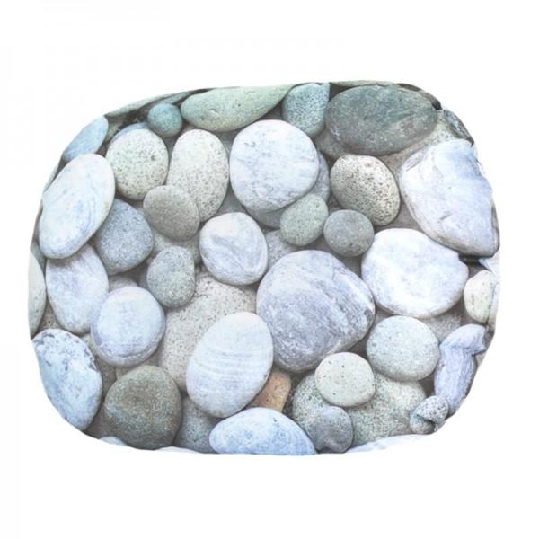 Badewannenkissen Aufblasbar Stein