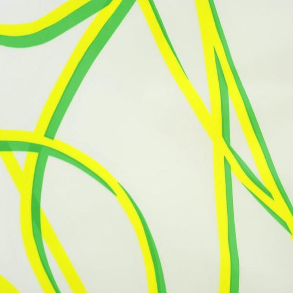 Duschvorhang 180x200 SPAGHETTI Grün
