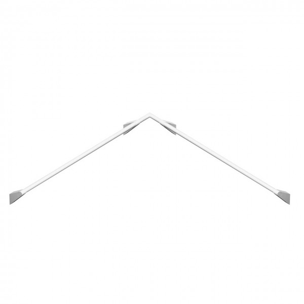 Design Haltegriff Dusche weiß Stützgriff für Eckdusche Handlauf