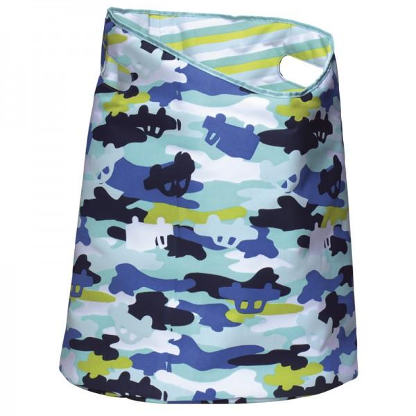Wäschekorb rund 50x40cm Camouflage