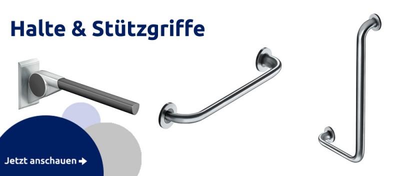 Wo gibt es stabile Badezimmer Edelstahl Stützgriffe als Haltegriff für Badewanne und Dusche