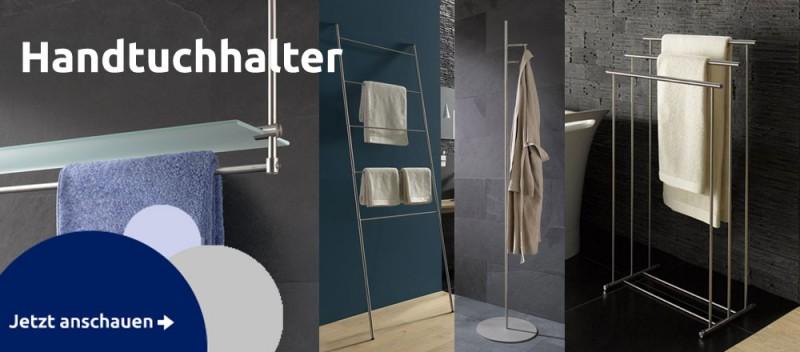 Edelstahl Handtuchhalter mit Wandhalterung als Handtuchhaken oder Handtuchleiter für Bad und WC