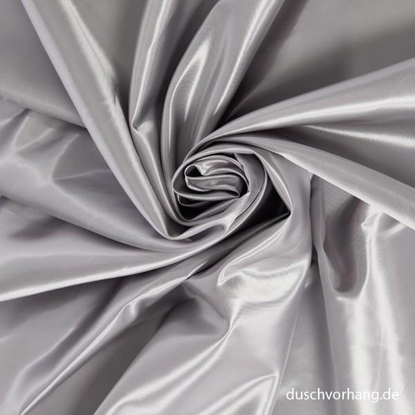 Duschvorhang Textil Silber 180x200