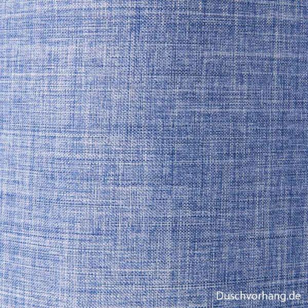 Textil Duschvorhang Blau 180x200
