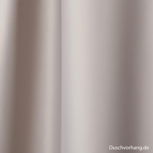 Duschvorhang Textil Grau 180x200 Trevira CS