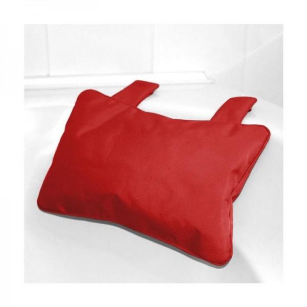 Badewannenkissen Polyester Rot