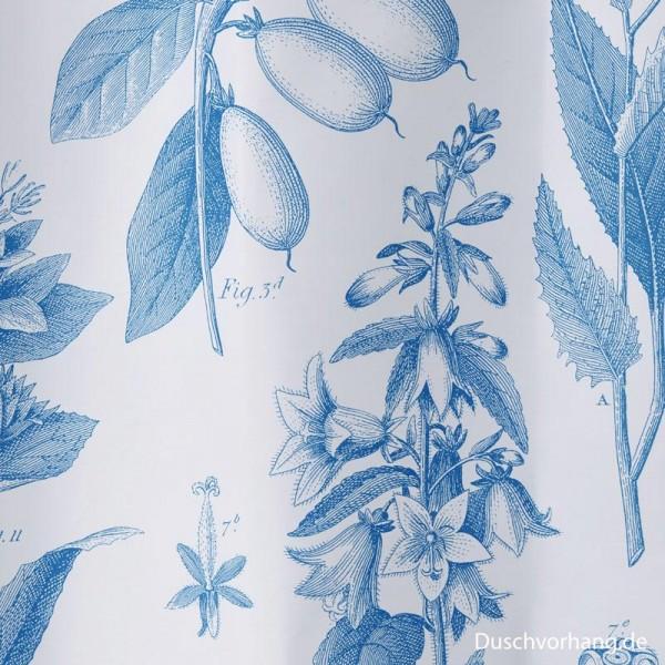Duschvorhang Textil 180x180 Botanik
