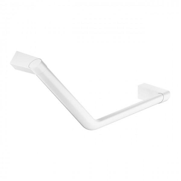 Badezimmer Haltegriff weiß mit Winkel als Badewannengriff Duschgriff Universal